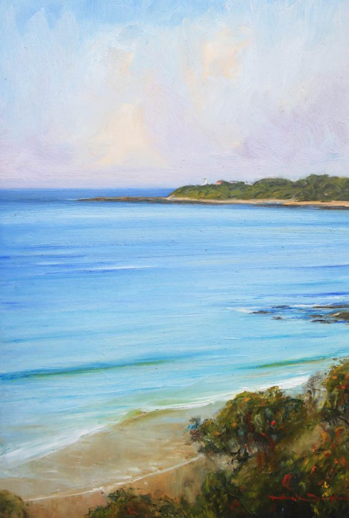 Jenny Dixon Beach-Central Coast-Artwork-Neale-Joseph-Australia