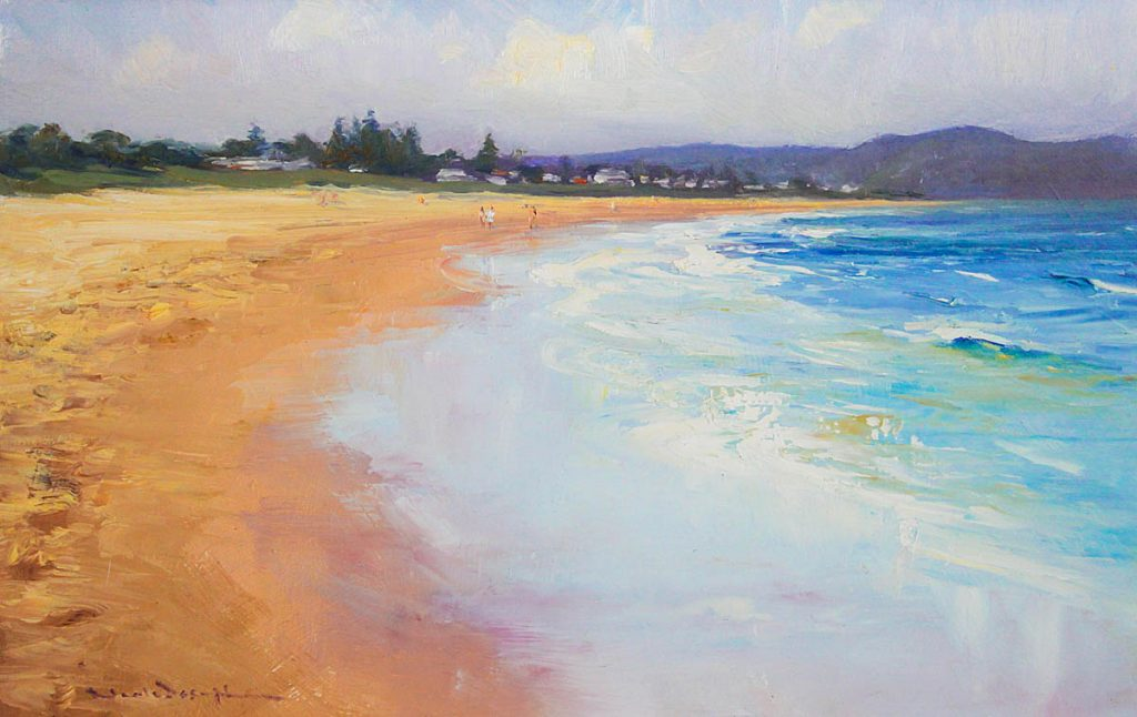 Umina Beach-Central Coast-Artwork-Neale-Joseph-Australia