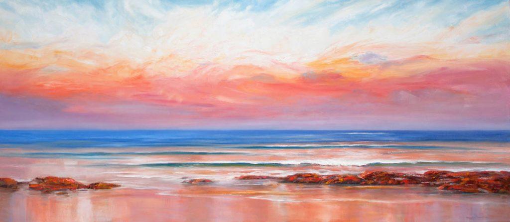 Reflections of Dusk-Seascapes-Artwork-Neale-Joseph-Australia