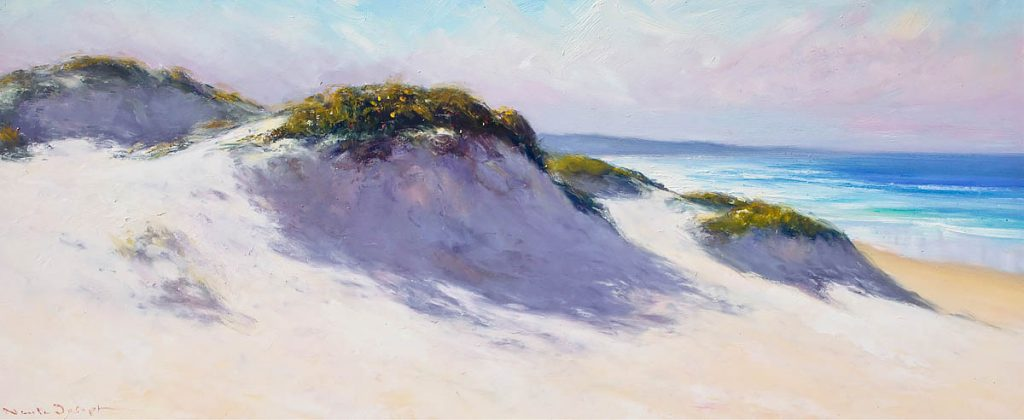 Sand Dunes North Entrance-Seascapes-Artwork-Neale-Joseph-Australia