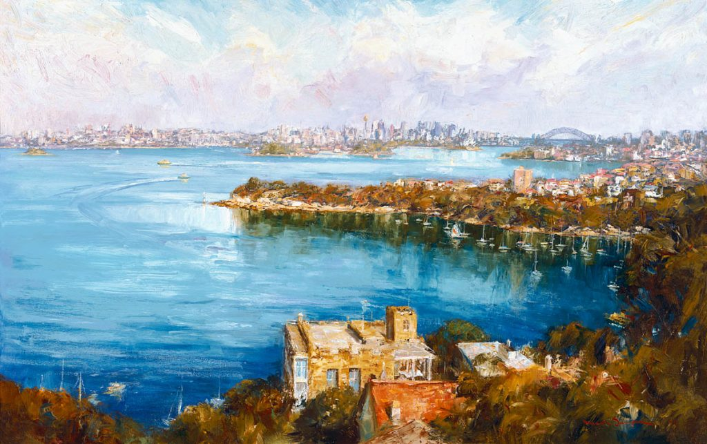 View from Mosman-Sydney-Artwork-Neale-Joseph-Australia