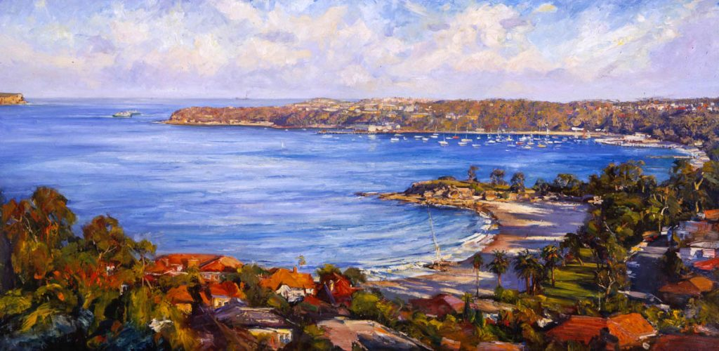 View from Above Balmoral-Sydney-Artwork-Neale-Joseph-Australia