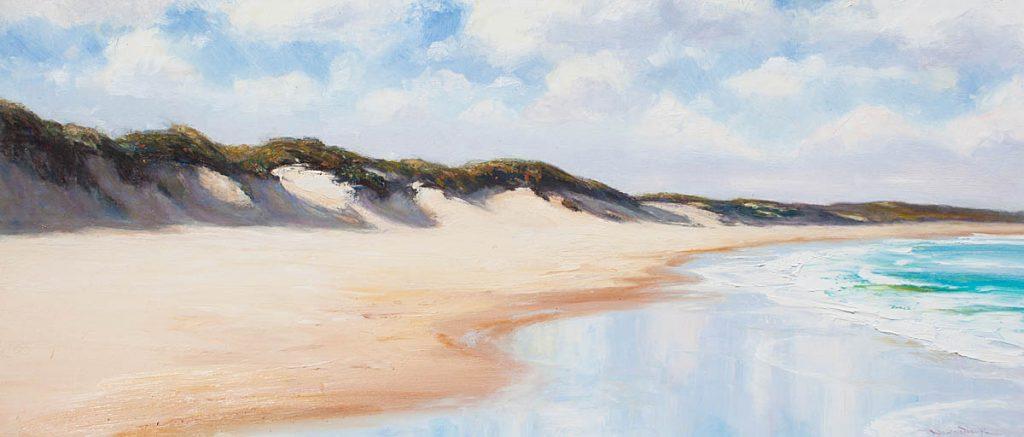 Magenta Shores-Seascapes-Artwork-Neale-Joseph-Australia