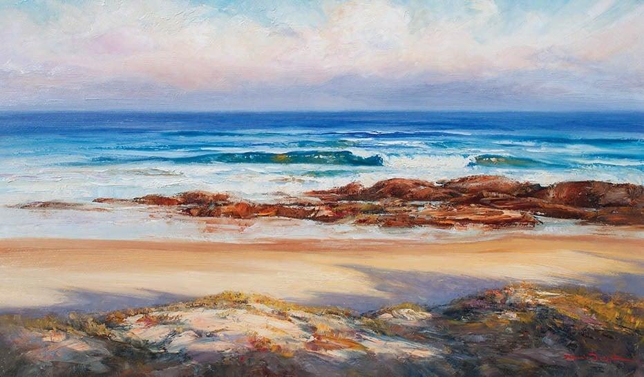 South Swell Shelly Beach-Seascapes-Artwork-Neale-Joseph-Australia