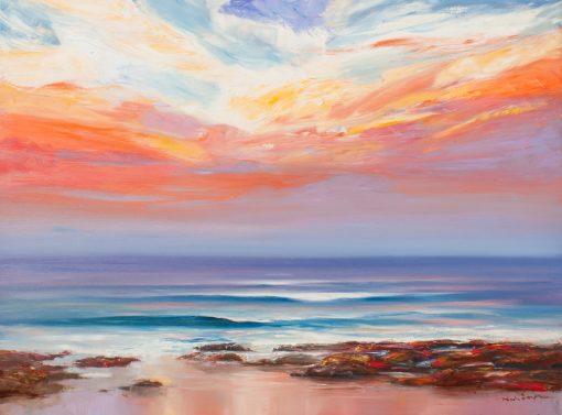 Sunsets Warm Embrace Study